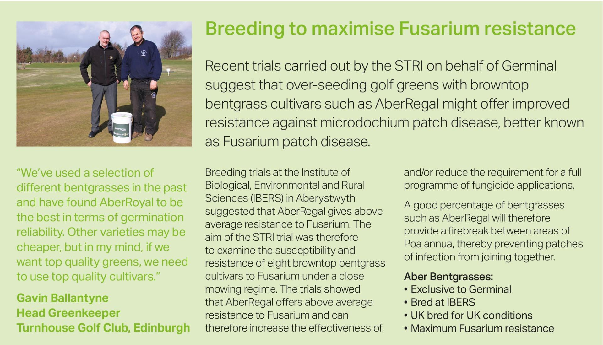Fusarium Resistance